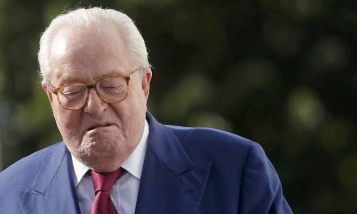 Jean-Marie Le Pen comentou vitória de Jair Bolsonaro Foto: Christian Hartmann / Reuters