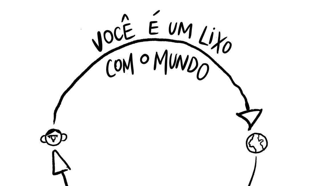 #desenhospelademocracia Foto: Agência O Globo