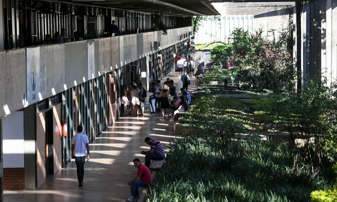 Universidade Federal de Brasília (UnB) Foto: Fabio Rodrigues Pozzebom/Agência Brasil
