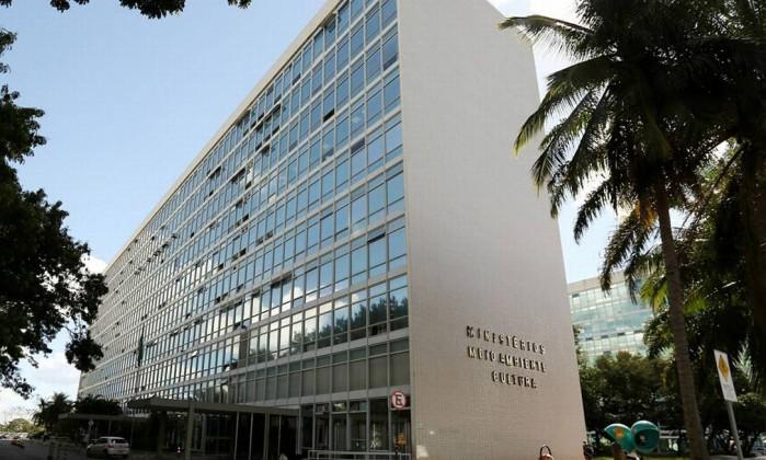 Prédio do Ministério do Meio Ambiente, em Brasília Foto: Elisabete Alves / Reprodução