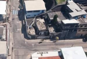 Caso ocorreu naRua Tenente Osório, esquina com a Alzira Vargas do Amaral Peixoto, no bairro Fonseca, em Niterói Foto: Reprodução/ Google Street View