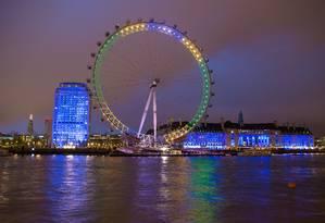 Porto Maravilha vai ganhar roda-gigante inspirada na London Eye Foto: Dominic Lipinski / AP