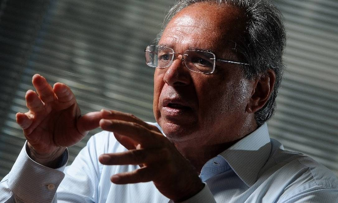 O economista Paulo Guedes, indicado para ser ministro da área econômica no governo de Jair Bolsonaro Foto: / Agência O Globo
