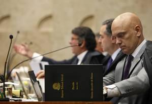 Plenário do STF considerou constitucional lei do Estado do Rio de Janeiro, acompanhando voto do relator Alexandre de Moraes Foto: Rosinei Coutinho / STF