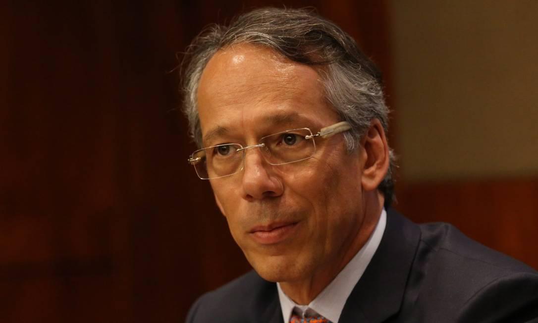 Cândido Bracher é o presidente do Itaú Unibanco Foto: Marcos Alves / Agência O Globo
