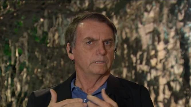 Presidente eleito Jair Bolsonaro em entrevista à TV Globo Foto: Reprodução / TV GLOBO
