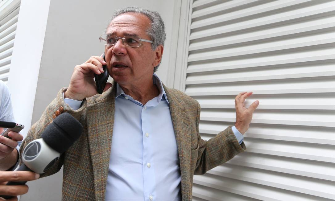 O economista Paulo Guedes, indicado para ministro da área econômica do governo Jair Bolsonaro 30/10/2018 Foto: Marcia Foletto / Agência O Globo