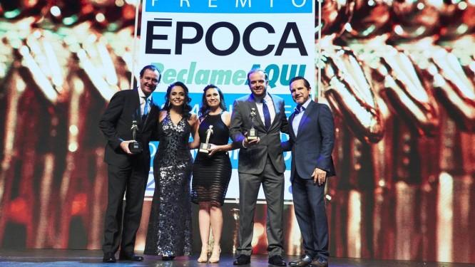 Vencedores do ReclameAqui Época 2018 Foto: Marcelo Saraiva Chaves / Divulgação