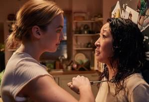 Sandra Oh e Jodie Corner em 'Killing Eve' Foto: Divulgação