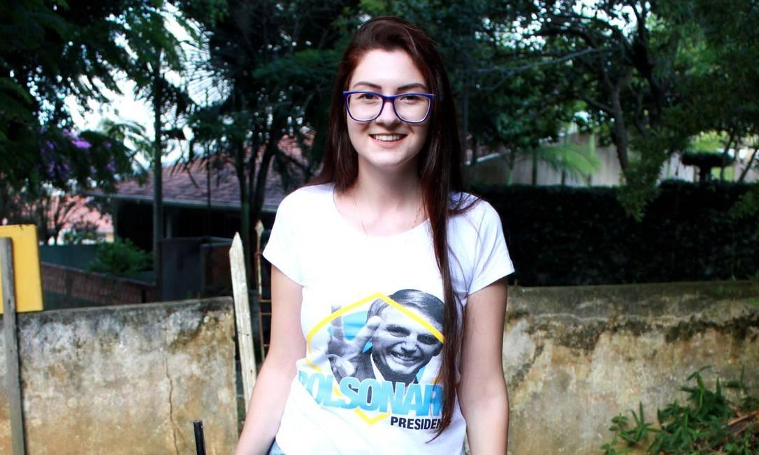 A deputada estadual eleita Ana Caroline Campagnolo Foto: Reprodução/Facebook
