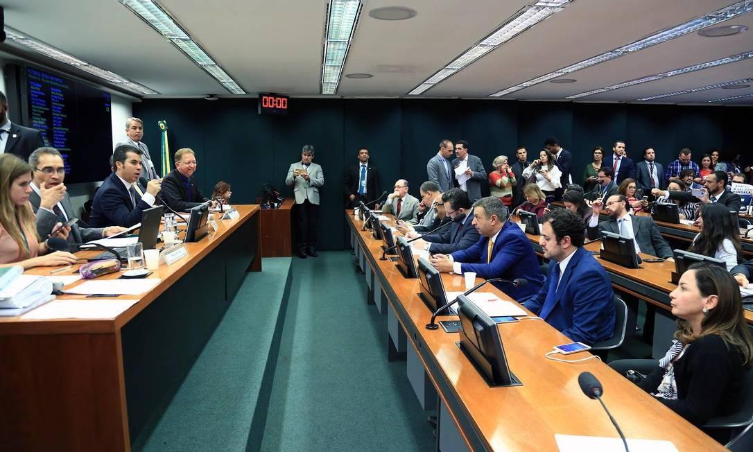 Sessão da comissão especial que analisa projeto Escola Sem Partido Foto: Alex Ferreira/Câmara dos Deputados/11-07-2018