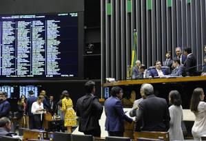 Plenário da Câmara dos Deputados durante sessão Foto: Luis Macedo/Câmara dos Deputados