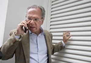 O economista Paulo Guedes, indicado para ser ministro da área econômica no governo de Jair Bolsonaro Foto: Márcia Foletto / Agência O Globo