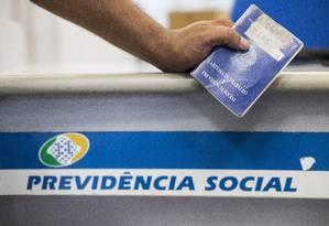 Déficit previdenciário dos estados é de R$ 93,397 bilhões, segundo o Tesouro Foto: Guito Moreto / Agência O Globo