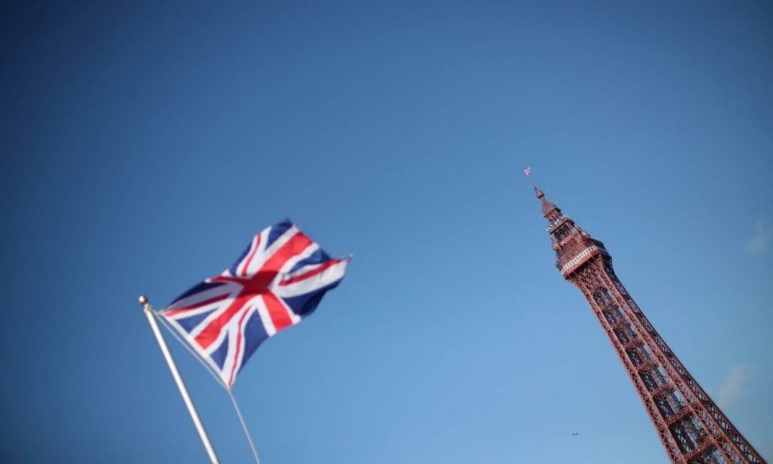 Bandeira do Reino Unido Foto: Hannah Mckay / Reuters