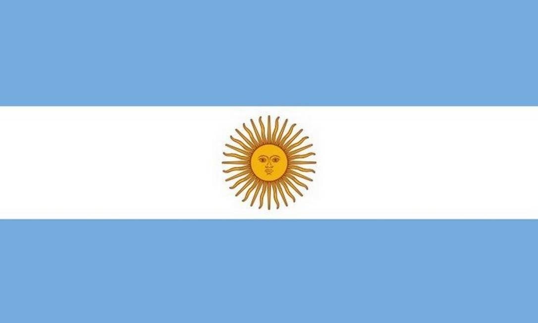 Bandeira da Argentina Foto: Reprodução