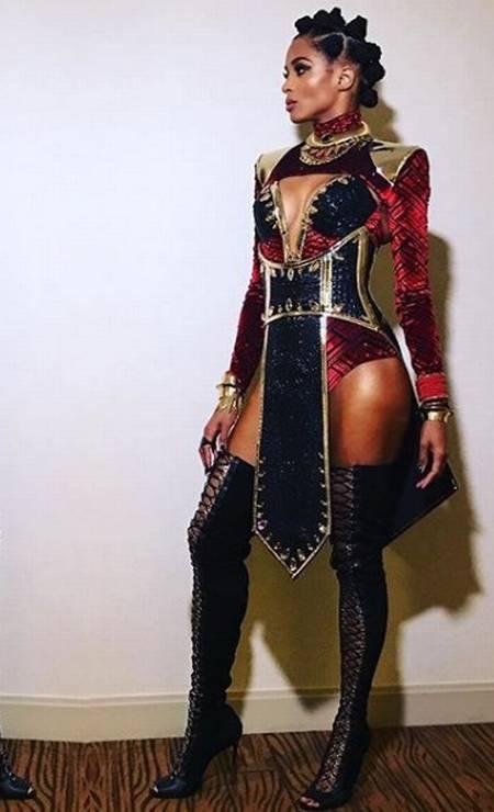 Ciara versão Pantera Negra Foto: Instagram