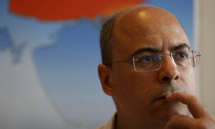 O governador-eleito do Rio de Janeiro, Wilson Witzel Foto: Custódio Coimbra / Agência O Globo