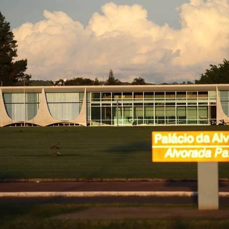 O Alvorada não foi ocupado nos últimos dois anos pelo presidente Michel Temer Foto: Jorge William / Agência O Globo