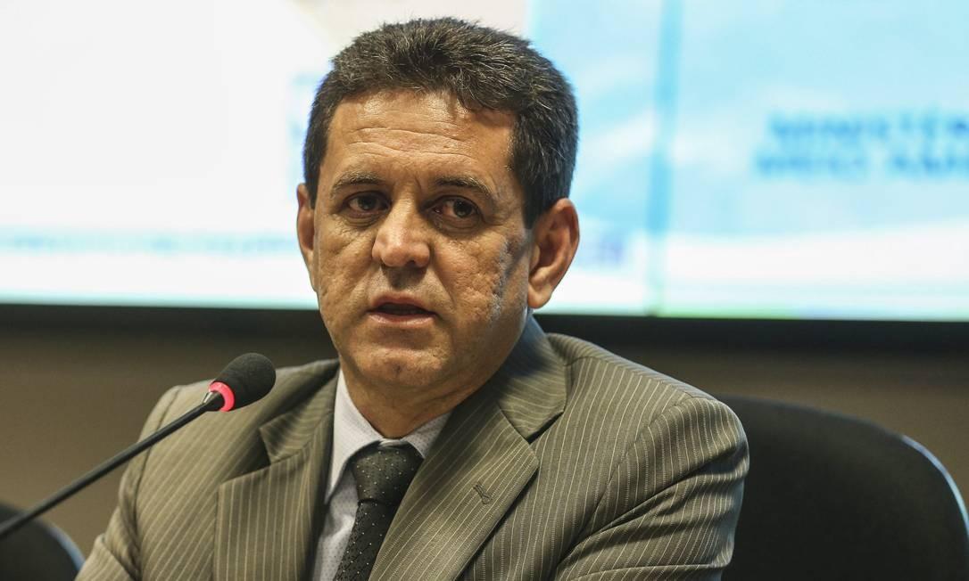 O ministro do Meio Ambiente, Edson Duarte durante evento Foto: Valter Campanato/Agência Brasil/20-09-2018
