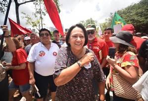 Fátima Bezerra (PT) foi eleita governadora do RN com 57,6% dos votos Foto: Divulgação