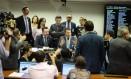 Sessão da comissão especial que discute Escola Sem Partido Foto: Jorge William / Agência O Globo