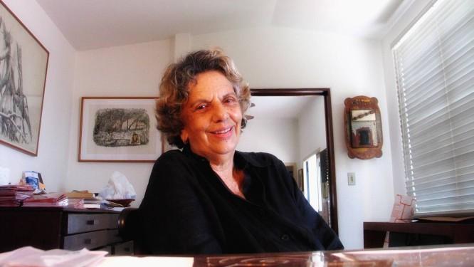 Anna Letycia: professora de nomes como Alair Gomes, Aluísio Carvão, Rubem Grilo e Analu Cunha Foto: Leo Aversa