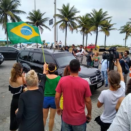 Sergio Moro chega à casa de Bolsonaro para reunião com presidente eleito Foto: Bernardo Mello