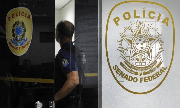 Polícia Legislativa do Senado Federal Foto: Edilson Rodrigues/Agência Senado