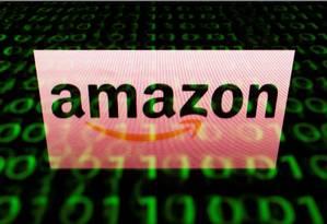 Logo da Amazon Foto: AFP