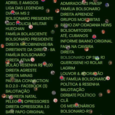 Bolsonaristas pretendem manter em atividade grupos de whatsapp Foto: ÉPOCA