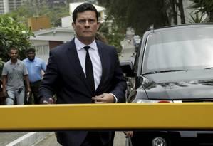 O juiz Sérgio Moro aceitou ser ministro da Justiça do governo Bolsoonaro Foto: Gabriel de Paiva / Agência O Globo