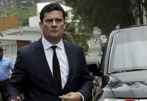 O juiz federal Sergio Moro aceitou ser ministro da Justiça do governo Bolsoonaro Foto: Gabriel de Paiva / Agência O Globo