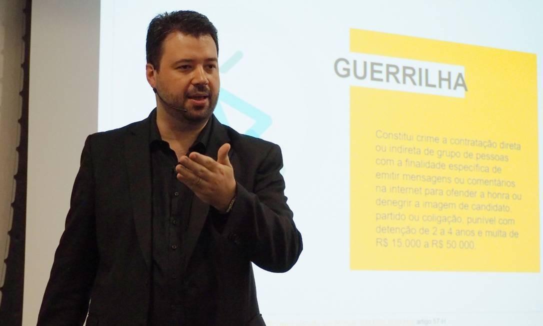 Estrategista digital de Geraldo Alckmin Foto: Divulgação