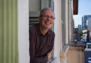 Miguel Vellinho é fundador e diretor da Cia PeQuod Foto: Emily Almeida / Agência O Globo