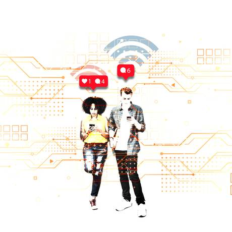 Dependência da internet é um transtorno do controle de impulsos Foto: Silvana Mattievitch