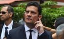 O juiz Sergio Moro será o ministro da Justiça do governo Bolsonaro Foto: MAURO PIMENTEL / AFP