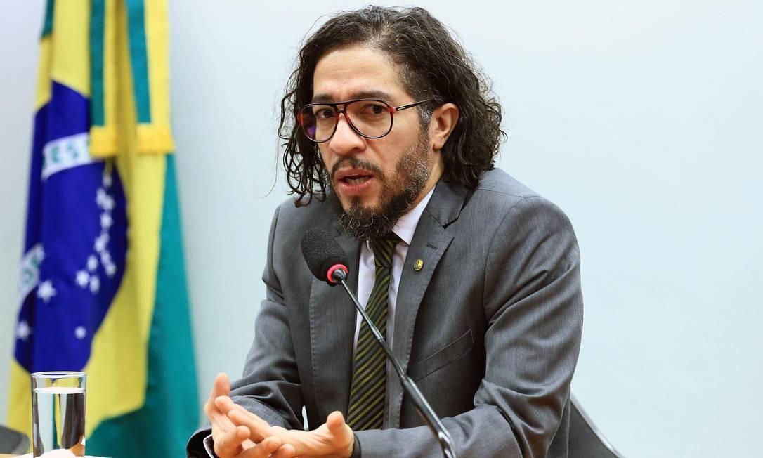 O deputado federal Jean Wyllys (PSOL-RJ) Foto: Alex Ferreira/Câmara dos Deputados/17-04-2018