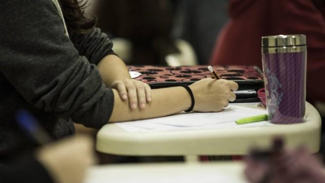 Neste domingo, estudantes farão provas de Ciências da Natureza e Matemática Foto: Guito Moreto / Agência O Globo