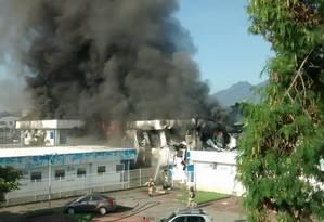Centro de Emergência Regional da unidade foi atingido Foto: Reprodução/Sulacap News