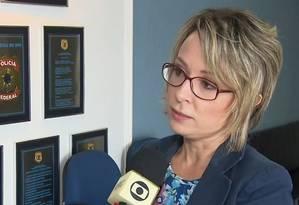 A delegada Érika Marena durante entrevista Foto: Reprodução/RPC