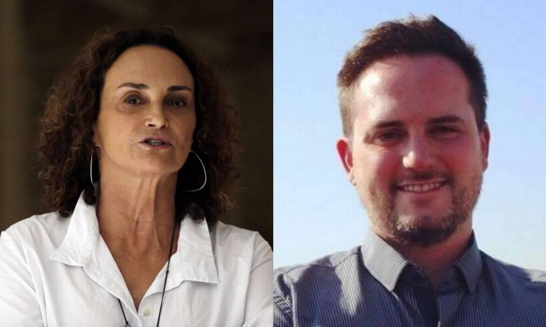 Elena Landau e Fábio Ostermann Foto: Gustavo Miranda / Agência O Globo