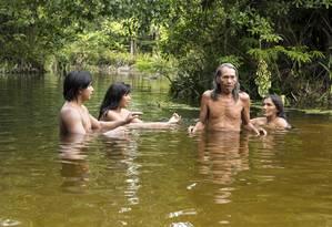 Cena de 'A terra negra dos Kawa' Foto: Divulgação