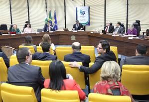 Debate entre candidatos ao cargo de Procurador-Geral da República, promovido pela Associação Nacional dos Procuradores da República (ANPR) - Arquivo - 22/06/2017 Foto: André Coelho / Agência O Globo
