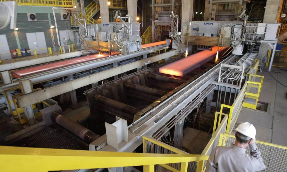 Usina siderúrgica Foto: Marco Antonio Teixeira/arquivo / Agência O Globo