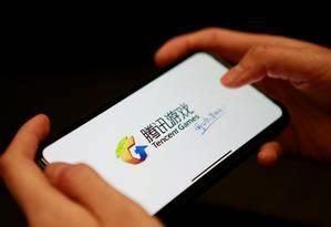 A Tencent é a maior empresa da indústria de videogames, por faturamento Foto: FLORENCE LO / REUTERS