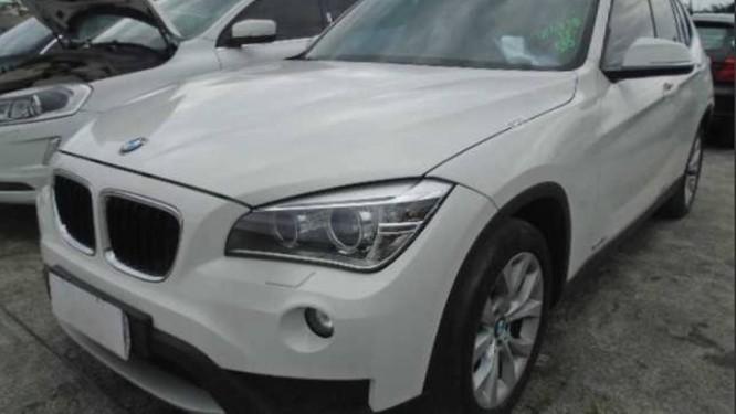 BMW X1 vai à leilão com lance inicial de R$ 16.527,06 Foto: Divulgação