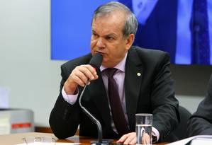 O deputado federal Peninha Mendonça (PMDB-SC) participa de audiência pública na Câmara Foto: Billy Boss/Câmara dos Deputados/10-05-2017