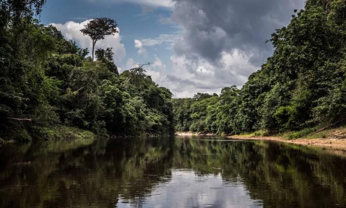 O rio Urucu, na Amazônia Foto: Guito Moreto / Agência O Globo