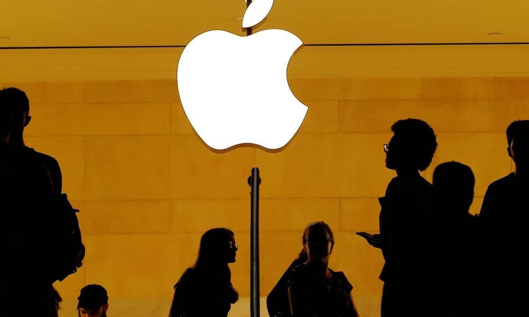 Loja da Apple na Grand Central Station em Nova York Foto: Lucas Jackson / REUTERS
